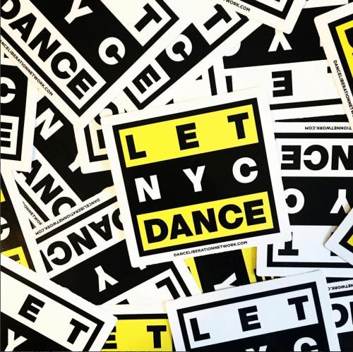 #LetNYCDance via Dance Liberation Network's Instagram