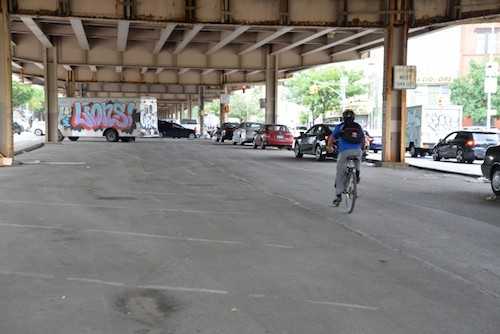 Meeker Avenue. Via the DOT's Meeker Avenue Re-Imagining Web Portal