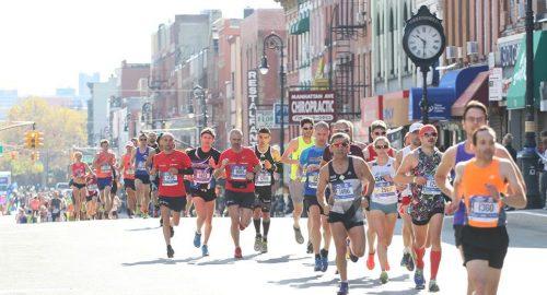 Marathon on Manhattan Avenue!