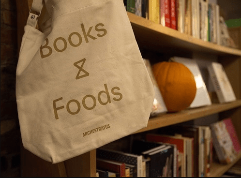 Inside Archestratus— part cookbook shop, part cafe and part event space.