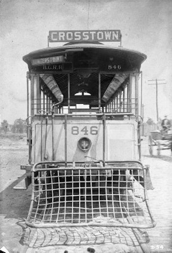 B.R.C.C. Crosstown Trolley, Via the Transit Museum