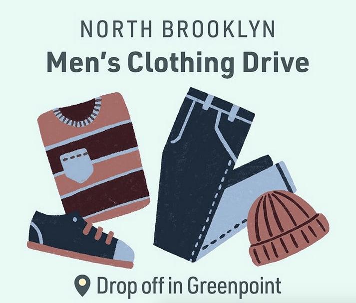 North Brooklyn Men's Clothing Drive
