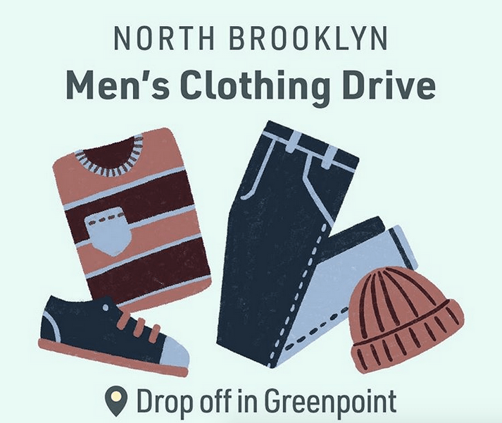 North Brooklyn Men's Clothing Drive