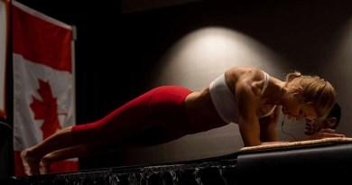 Wegańska mistrzyni fitnes bije rekord świata kobiet w kategorii plank