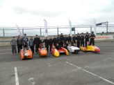 The chipping sodbury school car lineup for 2013.