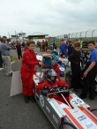on way to the start grid