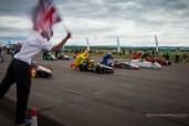 Greenpower Merryfield Heat race start