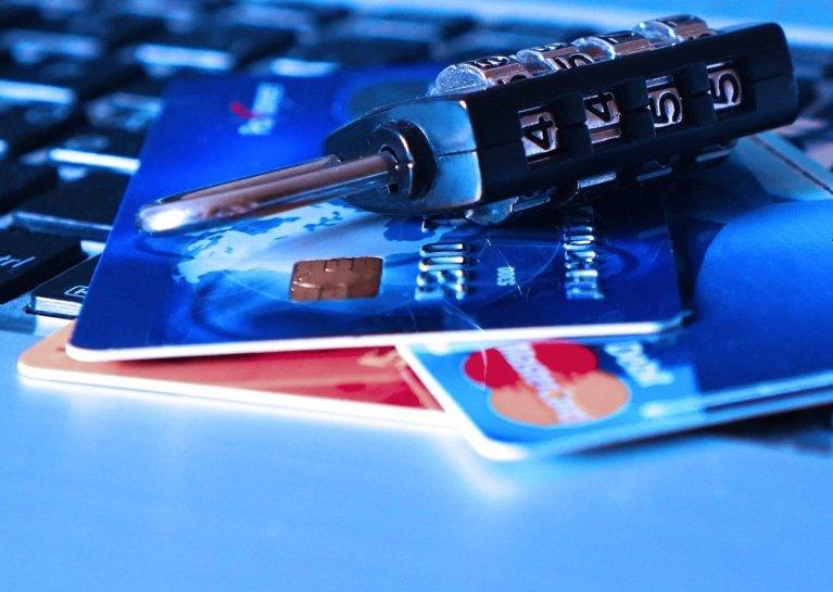 Credit Card and Lock