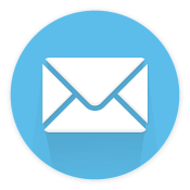 Blue Mail Envelope Icon