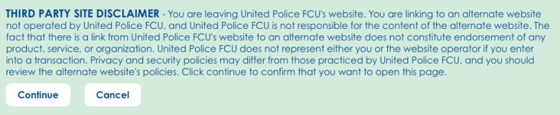 United Police FCU Interstitial