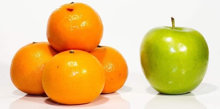 Apple and Oranges