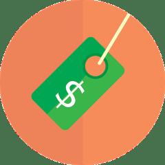 Dollar Sign Green Tag