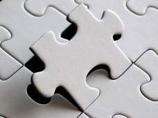 Puzzle Piece Fitting In