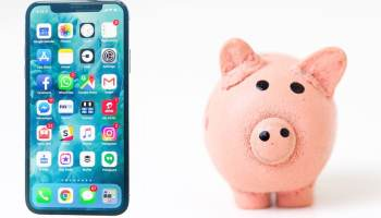 iPhone and Piggy Bank
