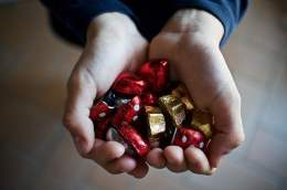 Handful of Chocolates