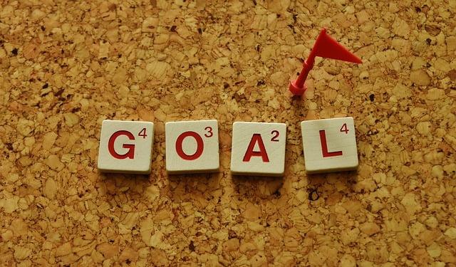Goal with Flag