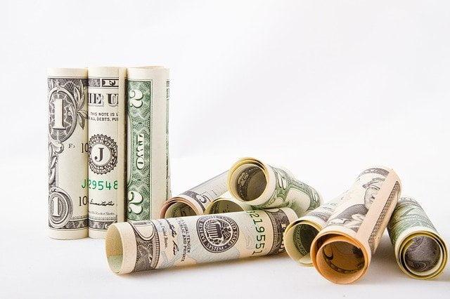 Money Dollar Bill Rolls