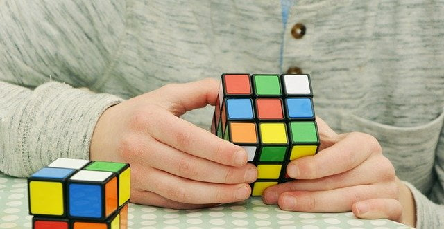 Doing Rubix Cube