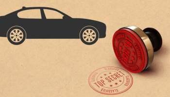 Secret Stamp with Car