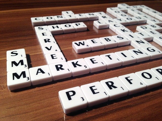 Website Marketing SEO Scrabble
