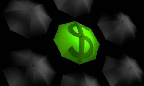 Green Money Umbrella
