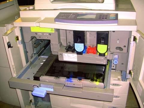 Copier Machine Open