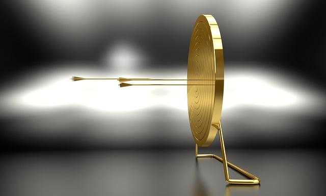 Golden Arrow and Target