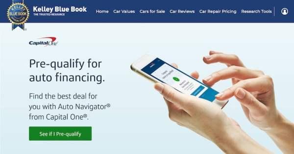 KBB Loans Page