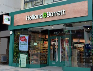 Food past its best before date to be sold in Holland & Barrett