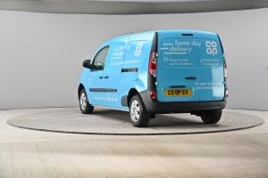 Co-op introduces electric delivery vehicles