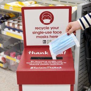 Wilko's face mask recycling scheme