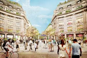 Oxford Circus regeneration plans