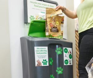 Pets at Home introduces recycling for pet food packaging