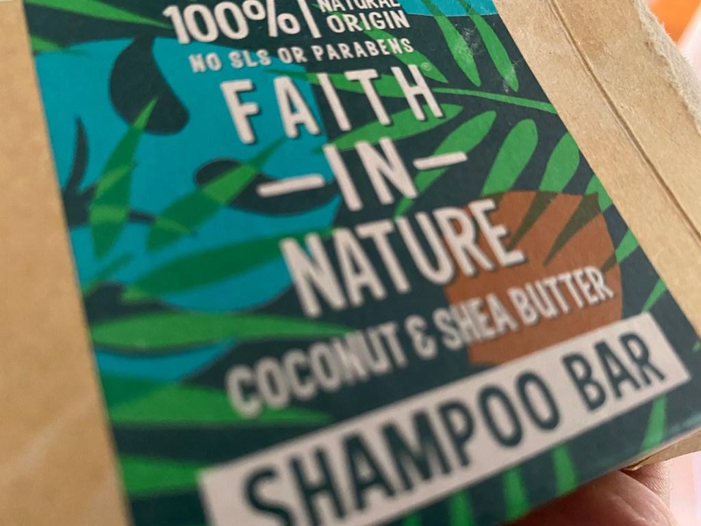 Plastic-free shampoo bar