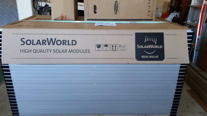 SolarWorld Panels
