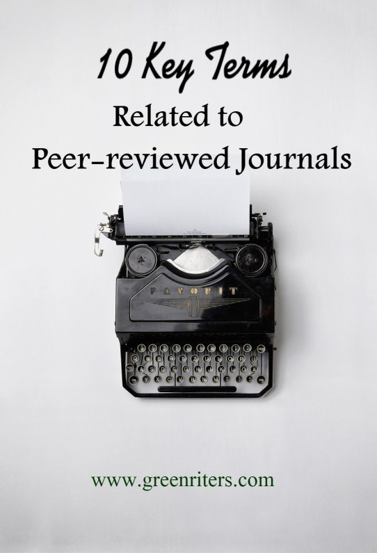 peer-reviewed journals