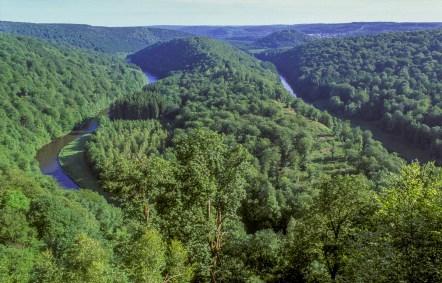 Semois River bend