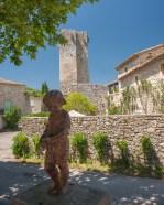 A walk around the village of Montclus, Gard, France