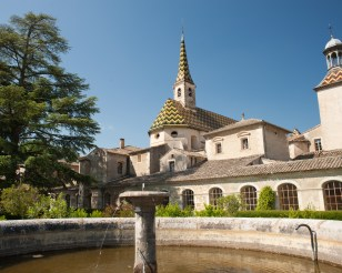 At the Chartreuse de Valbonne, a former monastery, Gard, France