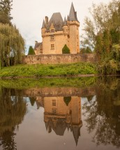 The Chateau at St. Leon-sur-Vezere, Perigord, France
