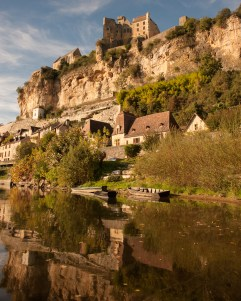 Beynac on the Dordogne river, France