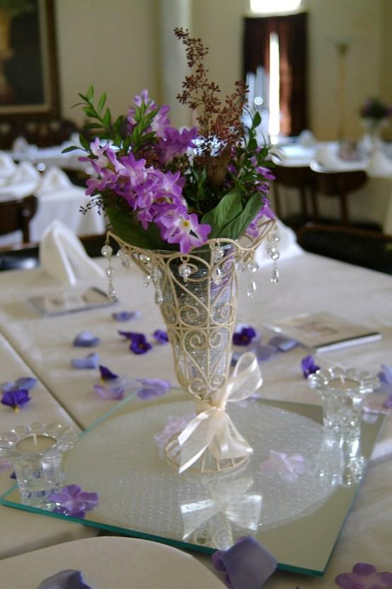 Lavender Centerpiece