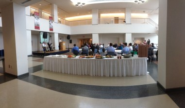 Off Site Corporate Catering for Rutherford County Economic Development Mtg