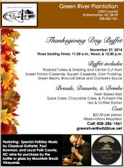 GR 2014 Thanksgiving Day Flyer
