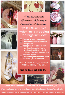 GR Sweethearts Wedding Flyer