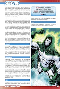 Heroes & Villains, Vol. 2 PDF Preview: Spectre