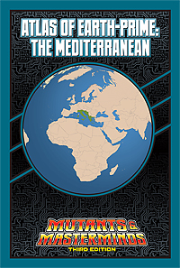 Atlas of Earth-Prime: The Mediterranean