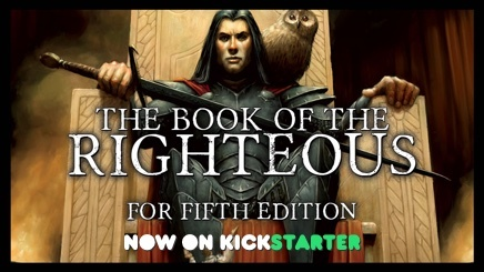The Book of the Righteous - Now on Kickstarter