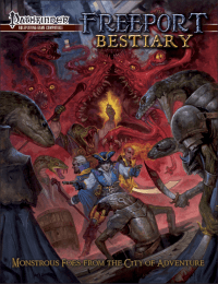 Freeport Bestiary for the Pathfinder RPG