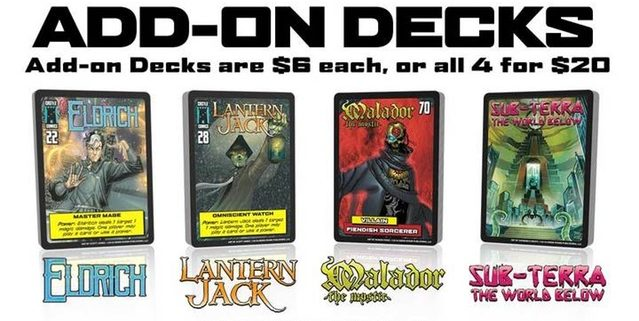 Sentinels of Earth-Prime Add-On Decks